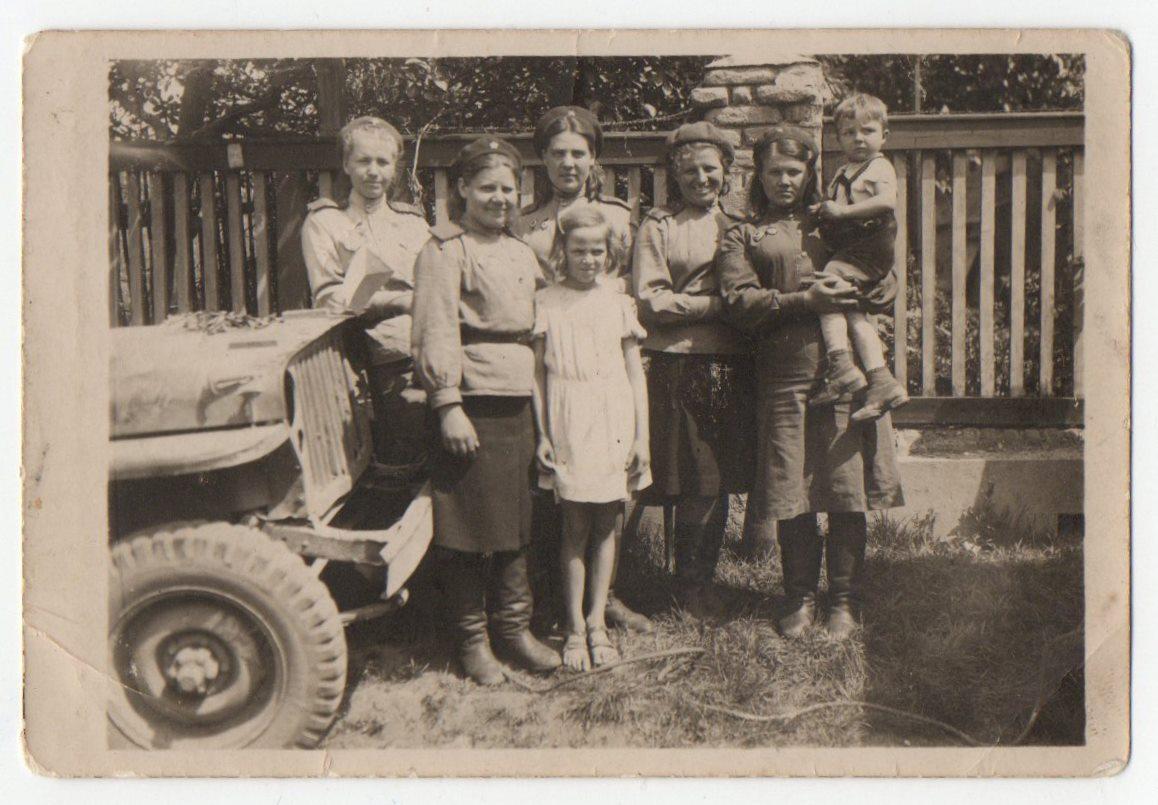 """Фотографія """"Військово-медична служба. День Перемоги. 1945"""""""