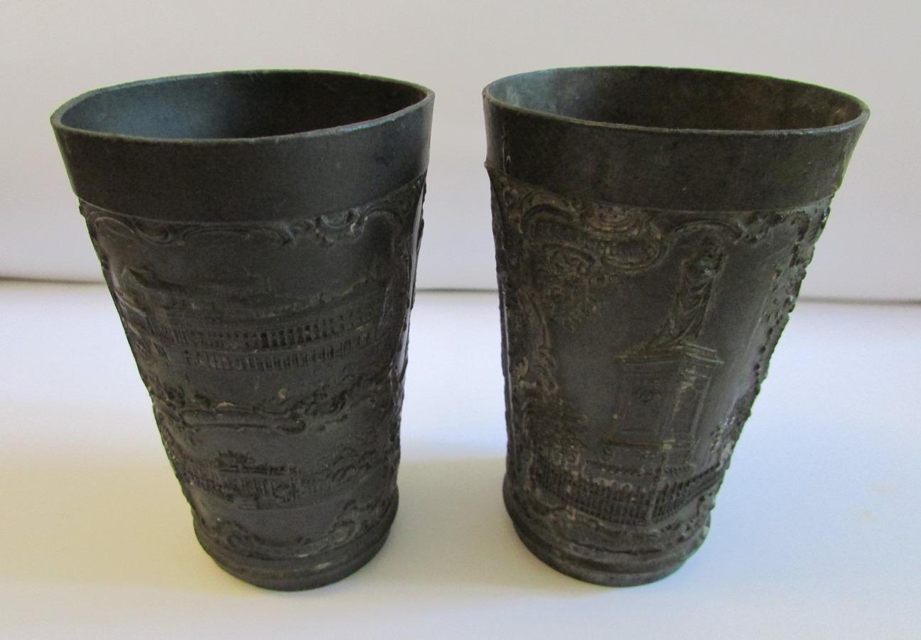"""Речі. """"Металевий стакан з карбуванням"""" (2 од.)"""