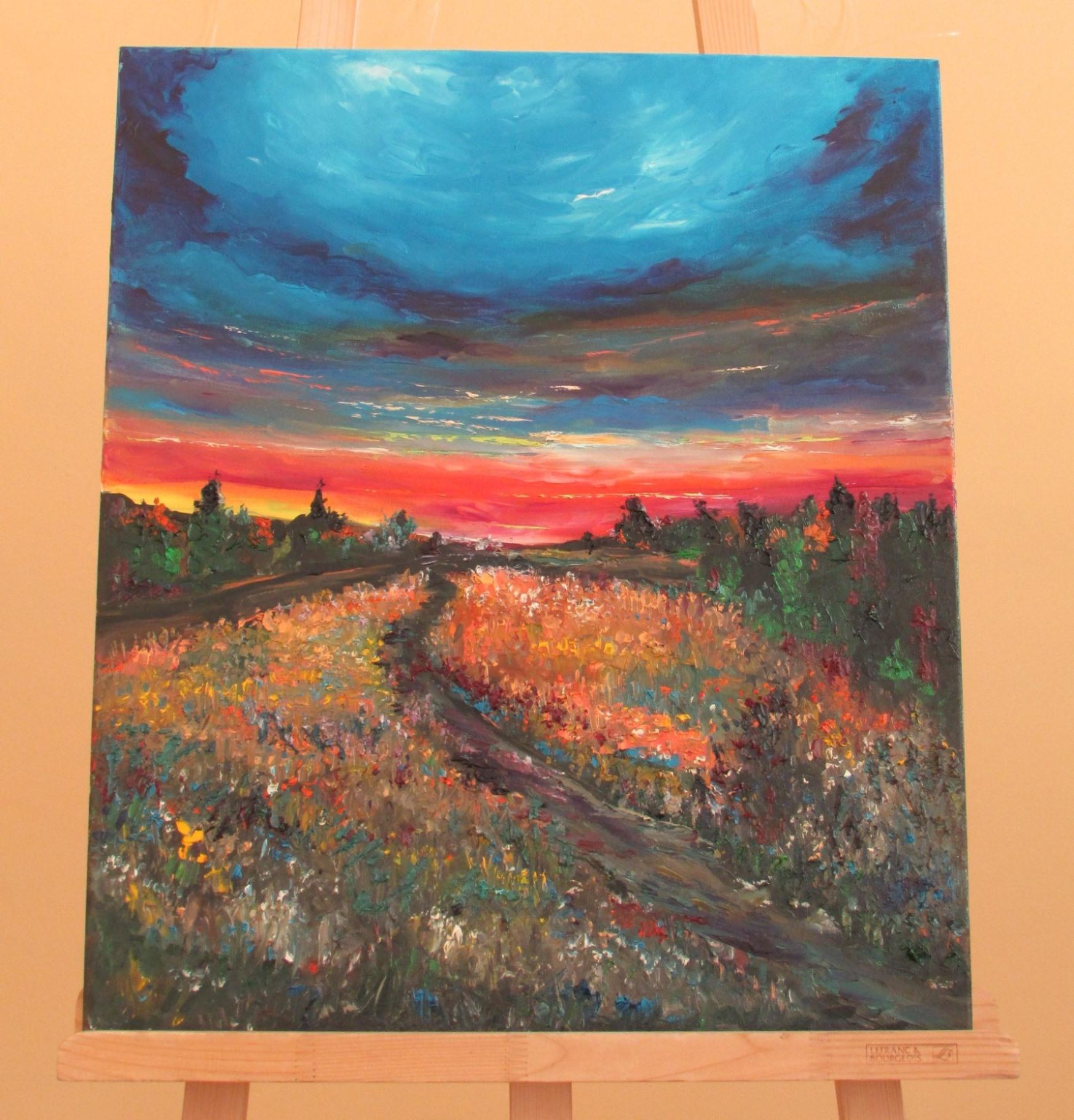 Картина Ю. Неросліка «Пейзаж»