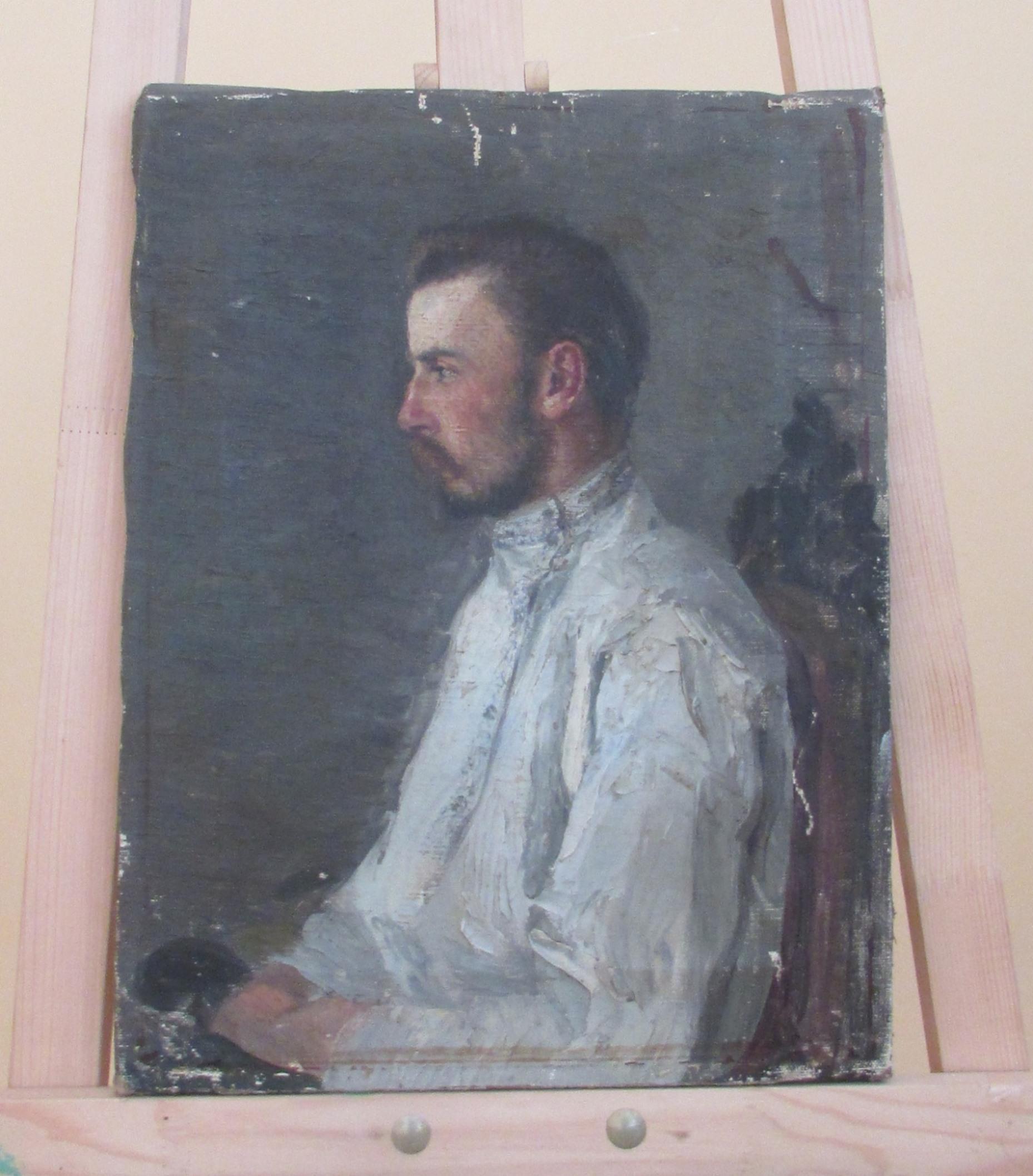 """Картина """"Портрет В. Л. Модзалевського"""" Невідомого автора"""