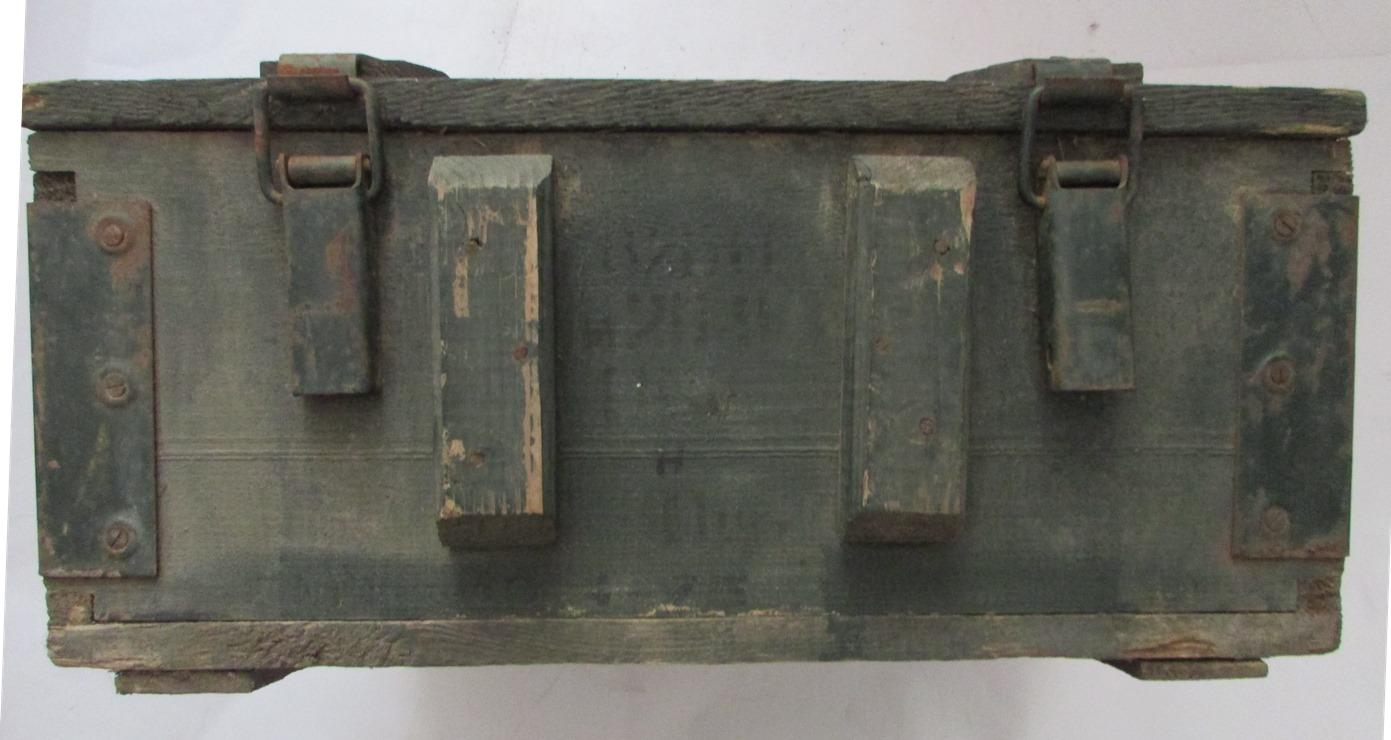 """Речі. """"Ящик для зберігання боєприпасів. Із зони проведення АТО"""""""