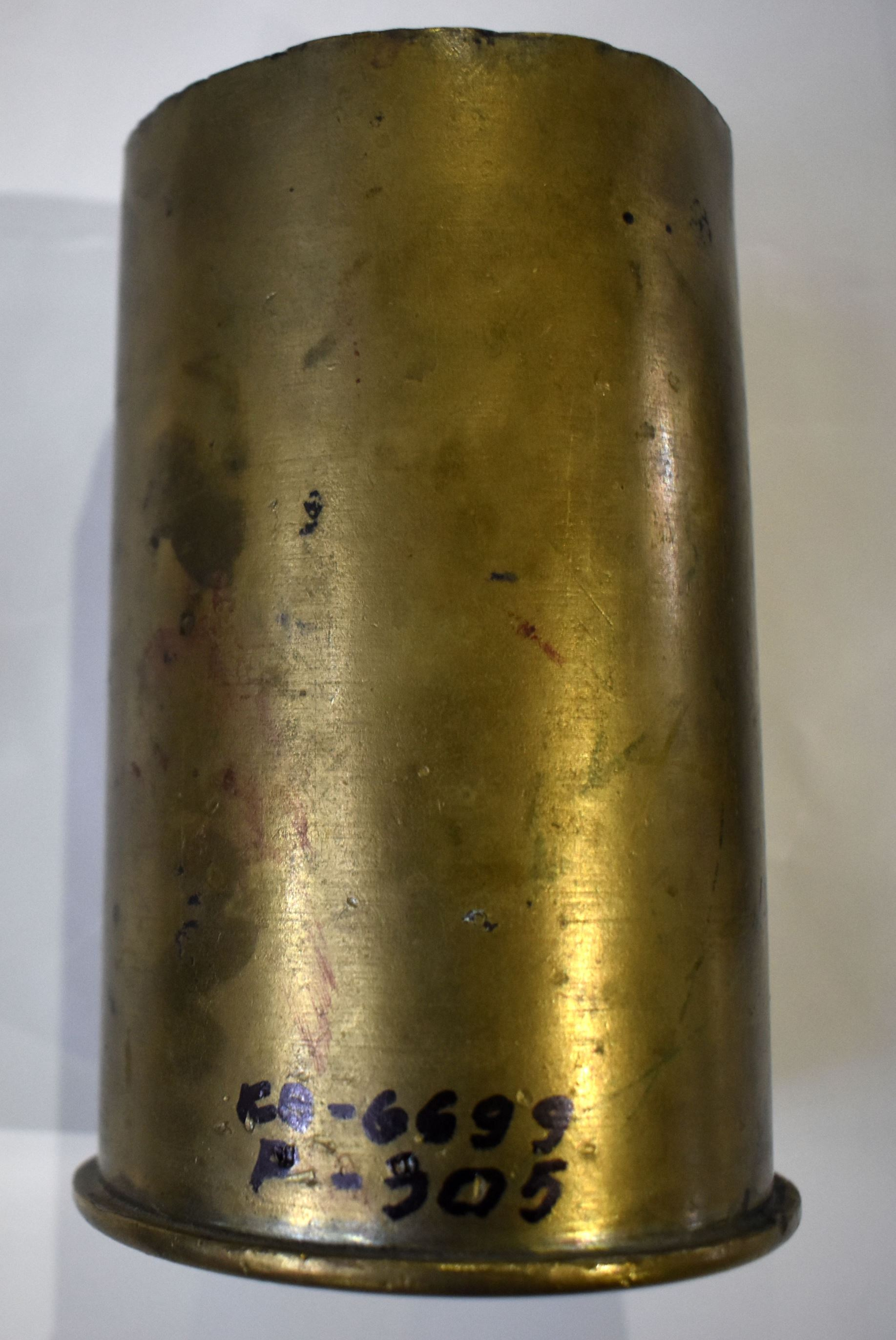 Речі. Підставка для олівців з артилерійської гільзи 1917р.