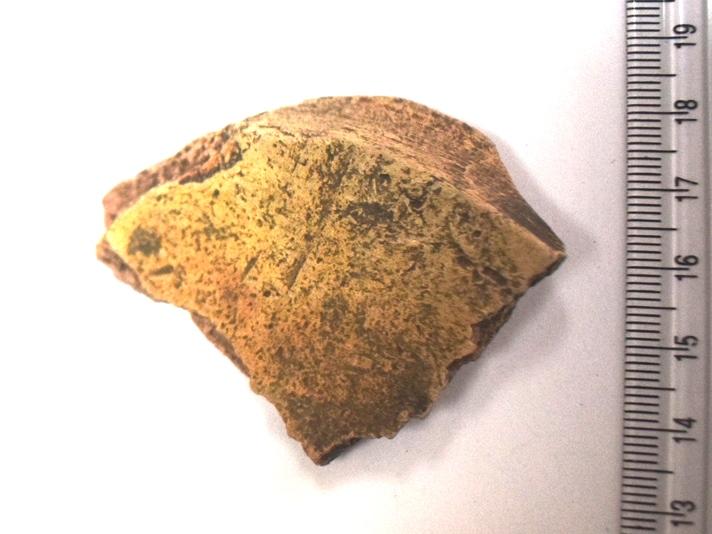Археологія. Фрагмент дна гончарної посудини. Х-ХІІ ст.