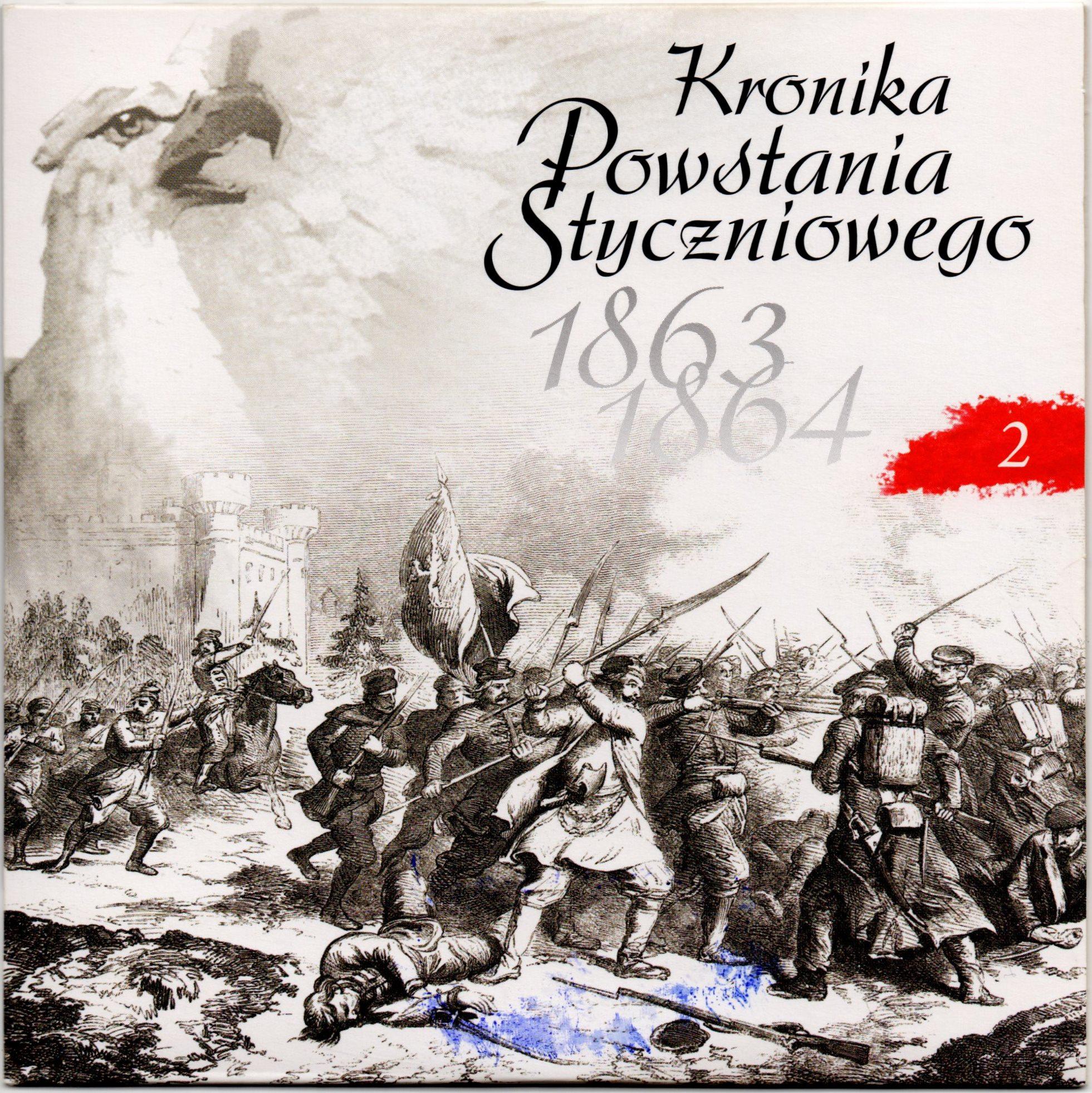 """Комплект компакт-дисків з буклетом """"Kronika Powstania Styczniowego 1863-1864 / Літопис Січневого повстання 1863-1864 рр."""". Диск 2"""