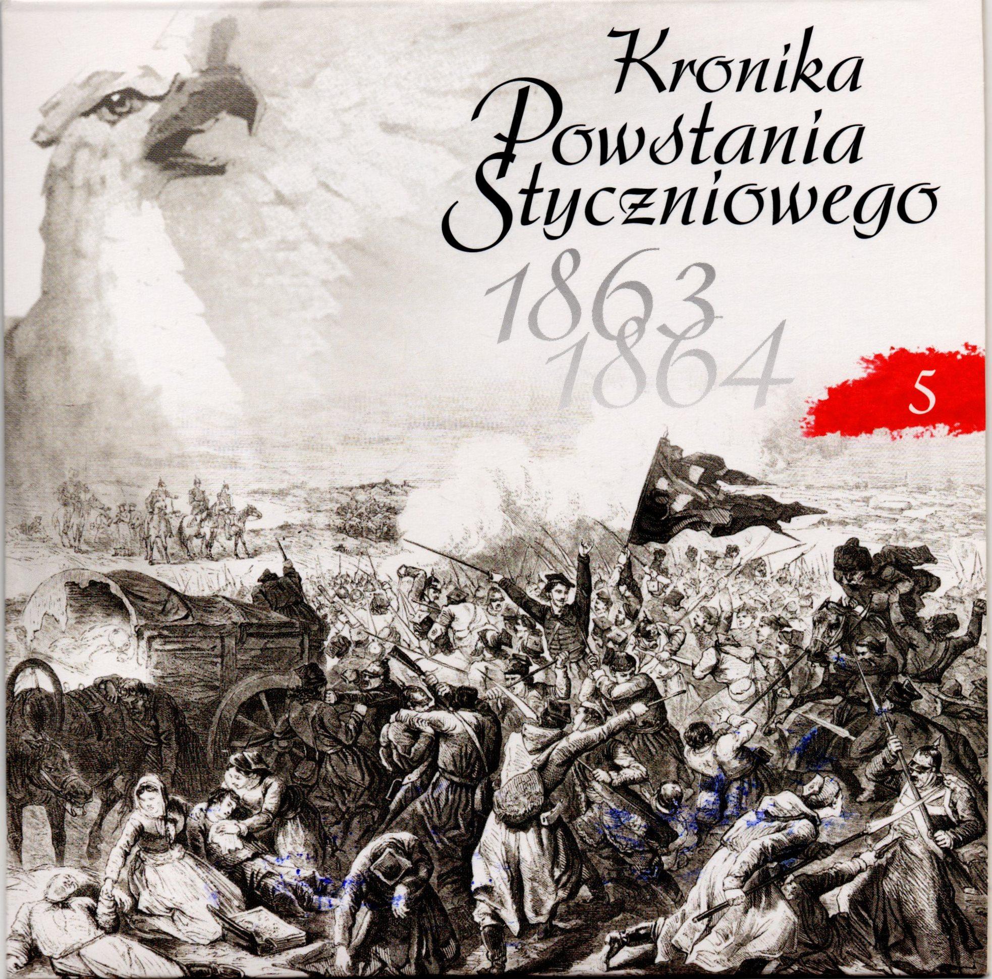 """Комплект компакт-дисків з буклетом """"Kronika Powstania Styczniowego 1863-1864 / Літопис Січневого повстання 1863-1864 рр."""". Диск 5"""