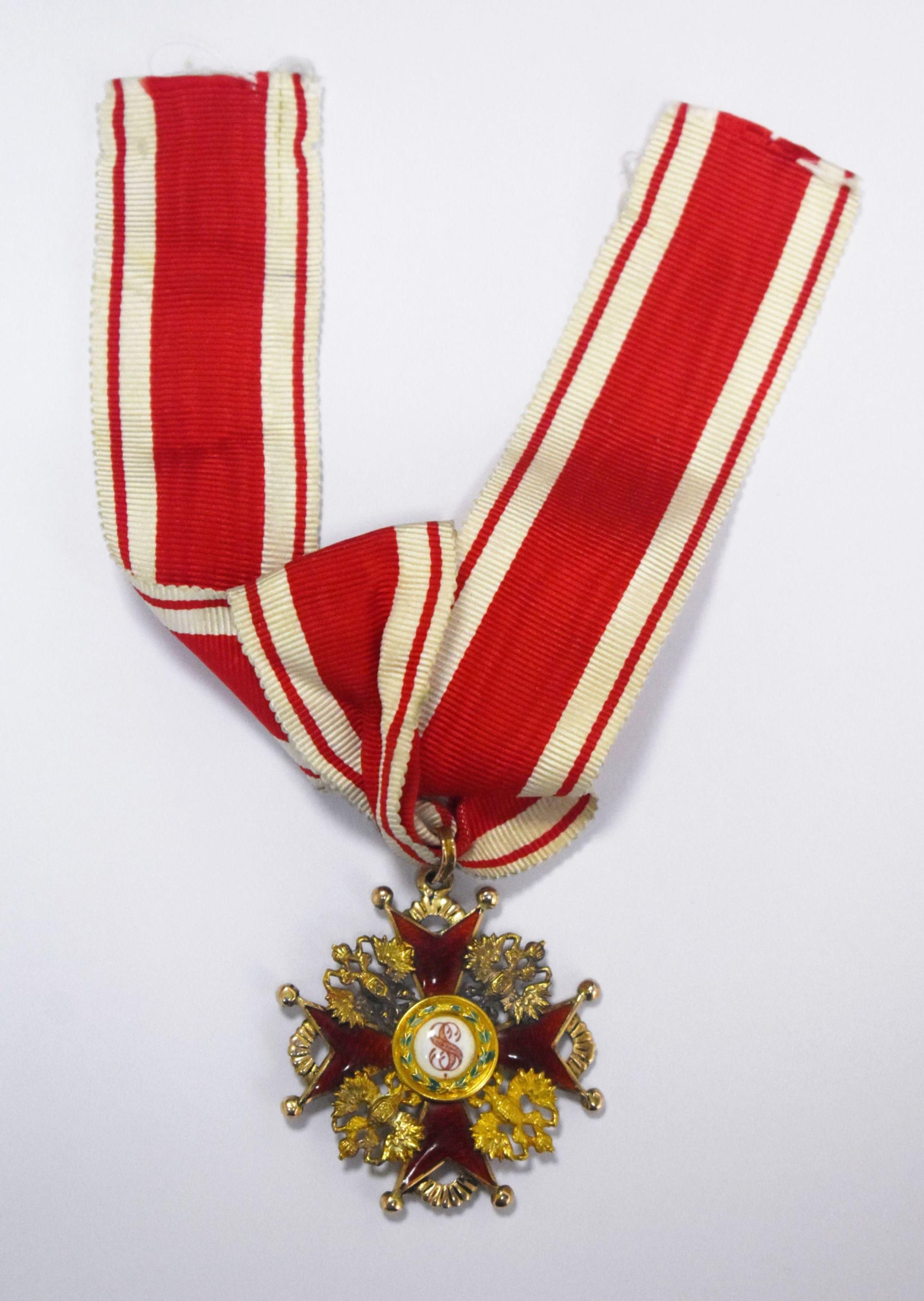Орден Святого Станіслава ІІІ ступеня