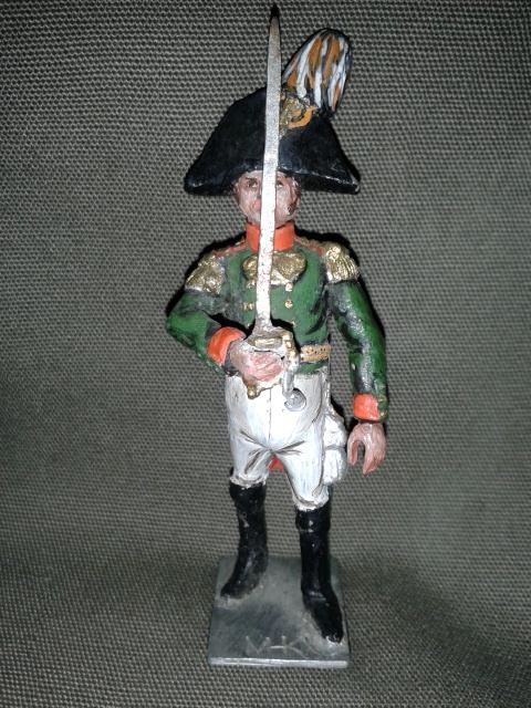 """Історична мініатюра """"Офіцер Лейб-гвардії Павловського полку. Російська імперія. 1812"""""""