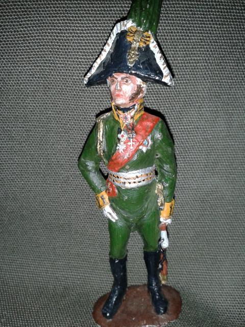 """Історична мініатюра """"Генерал Багратіон"""". Російська імперія. 1 пол. ХІХ ст."""""""