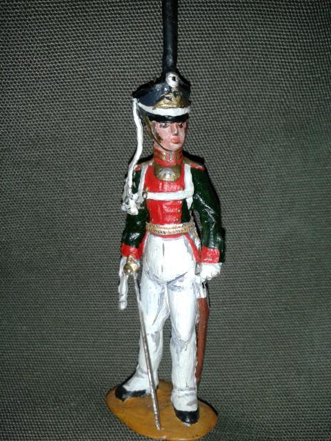 """Історична мініатюра """"Офіцер Лейб-гвардії Литовського полку. 1812"""""""