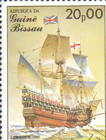 Марка поштова гашена. República da Guiné Bissau