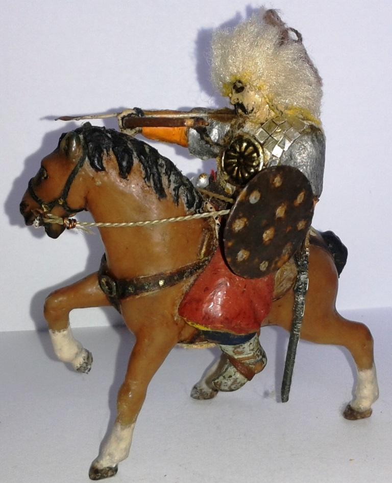 """Історична мініатюра. """"Монгольський воїн. ХІІІ ст."""""""