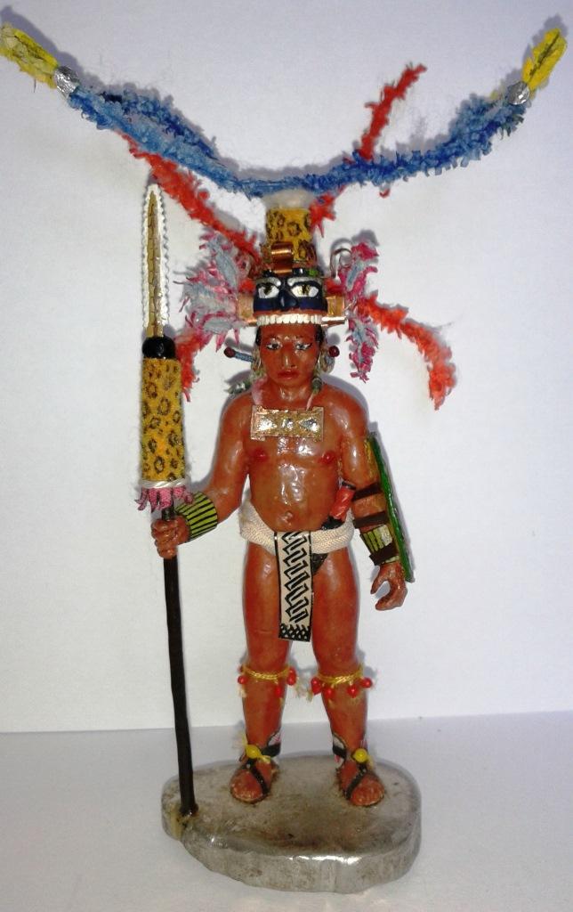 "Історична мініатюра. ""Воїн майя. Х-ХVІ ст."""