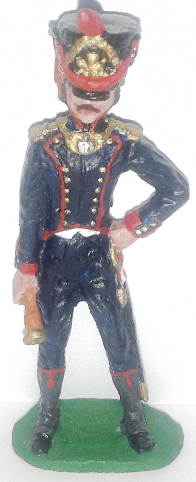 """Історична мініатюра. """"Офіцер. Стара Гвардія Наполеона. Перша Французька імперія"""""""