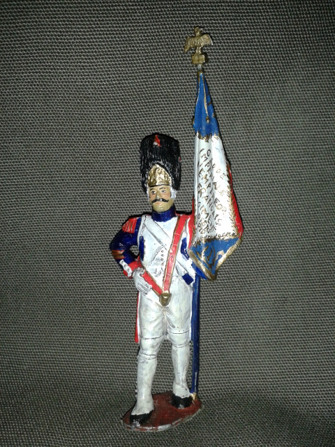 "Історична мініатюра. ""Прапороносець. Перша Французька імперія. 1812"""