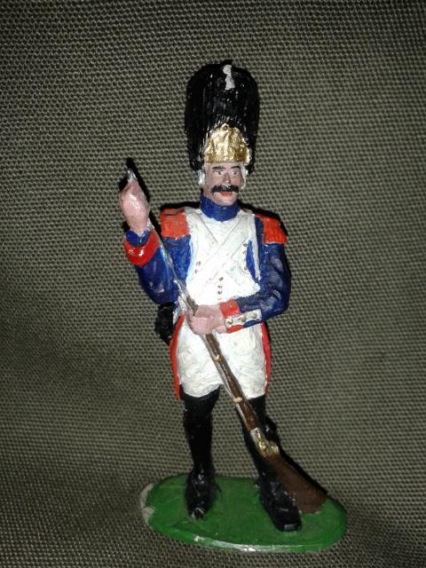 """Історична мініатюра. """"Гренадер. Перша Французька імперія. 1812"""""""