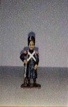 """Історична мініатюра. """"9 гренадерів. Перша Французька імперія. 1812"""""""