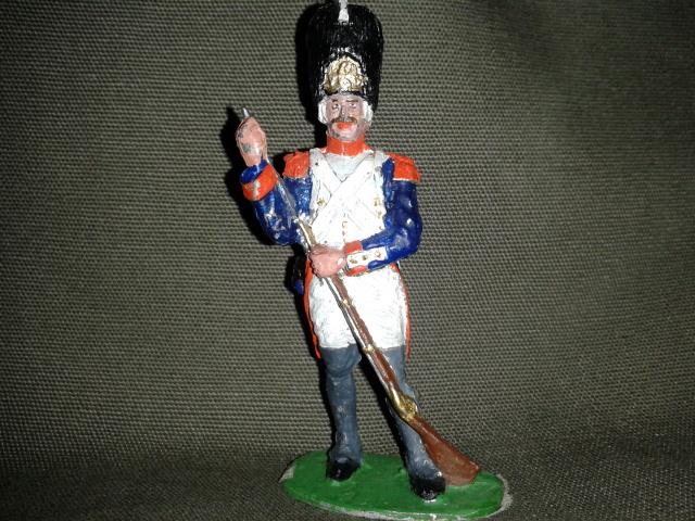 """Історична мініатюра. """"Єгер 1-го легкого полку. Перша Французька імперія. 1812"""""""
