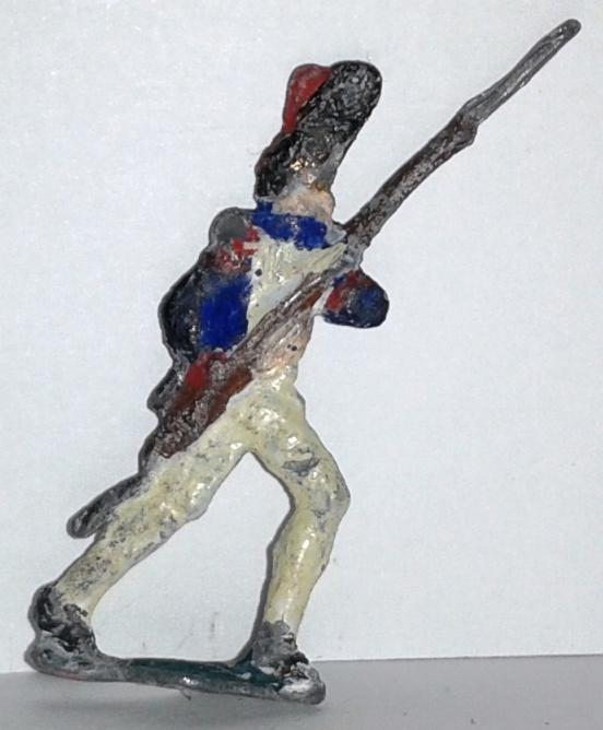 """Історична мініатюра. """"3 гренадери Лейб-гренадерського полку. Піхота. Франція. ХІХ ст."""""""