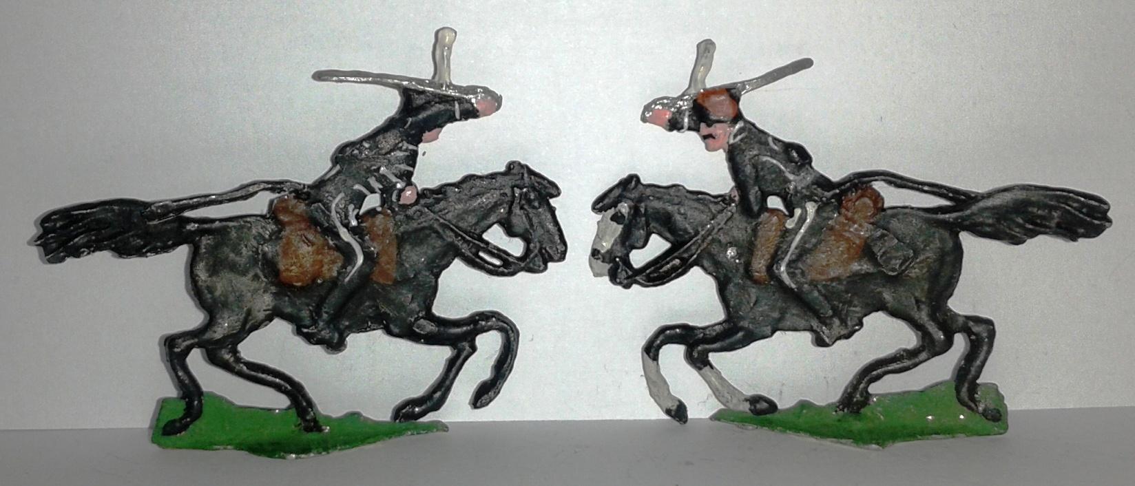 """Історична мініатюра. """"Чорні гусари"""" (2). Російська імперія. 1812"""""""