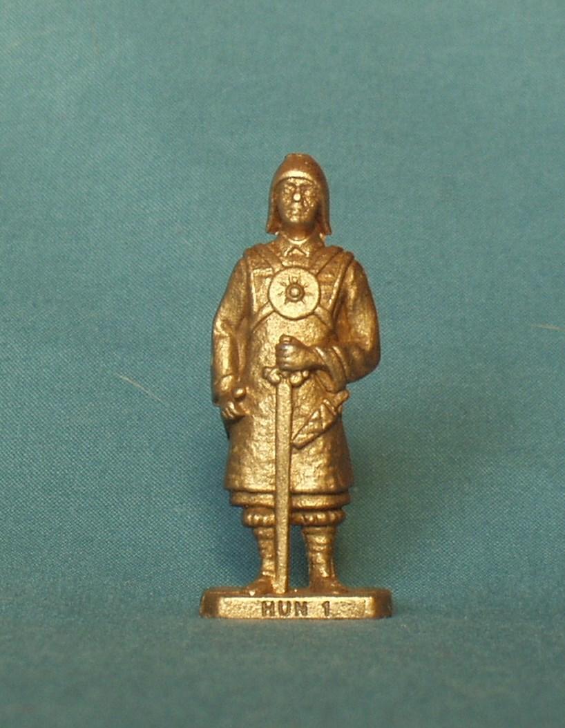"""Історична мініатюра. """"2 монгольські піхотинці. Х-ХІІ ст."""""""