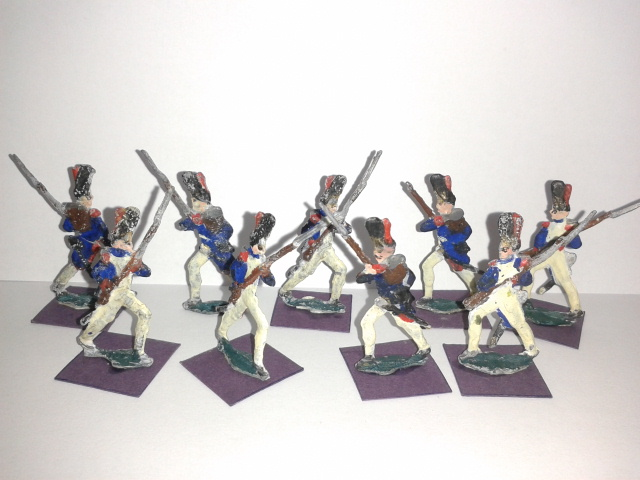 """Історична мініатюра. """"Гренадери. Стара гвардія. (10). Перша Французька імперія. 1805-1806"""""""