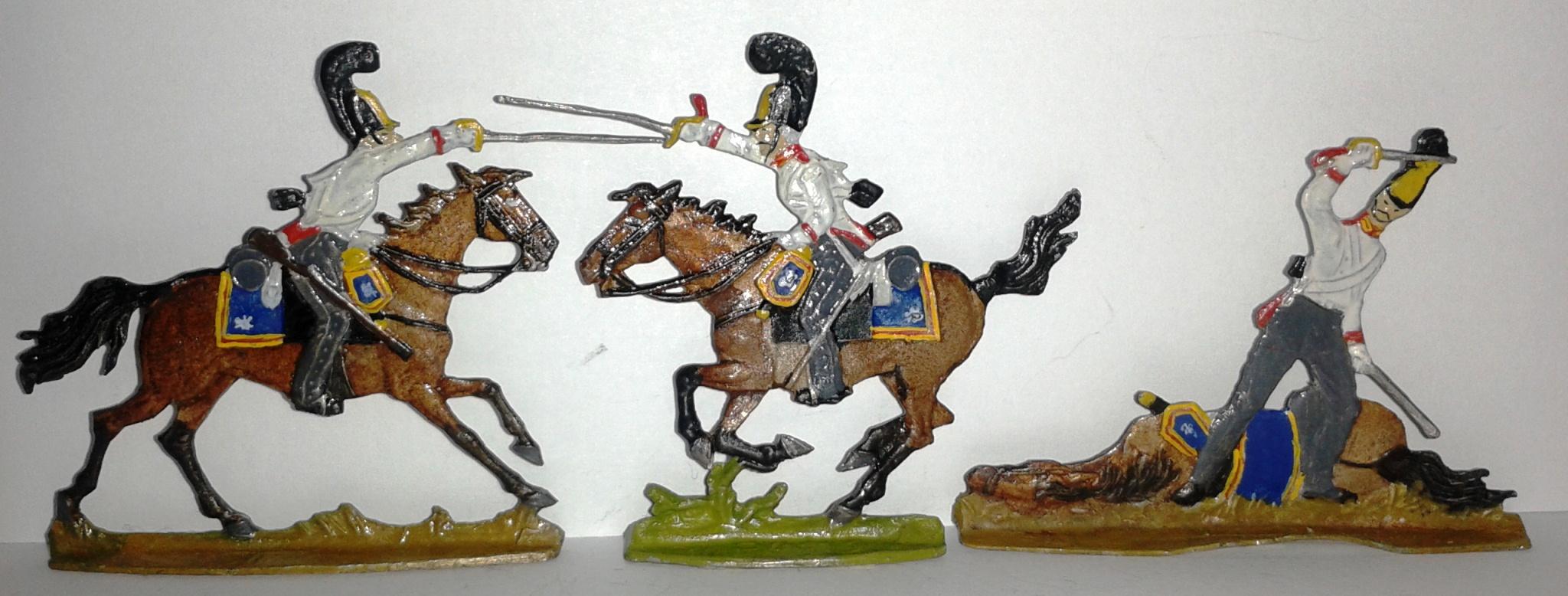 """Історична мініатюра. """"Гвардійці Лейб-гвардії Кінного полку. Російська імперія. Поч. ХІХ ст."""". (20 од.)"""