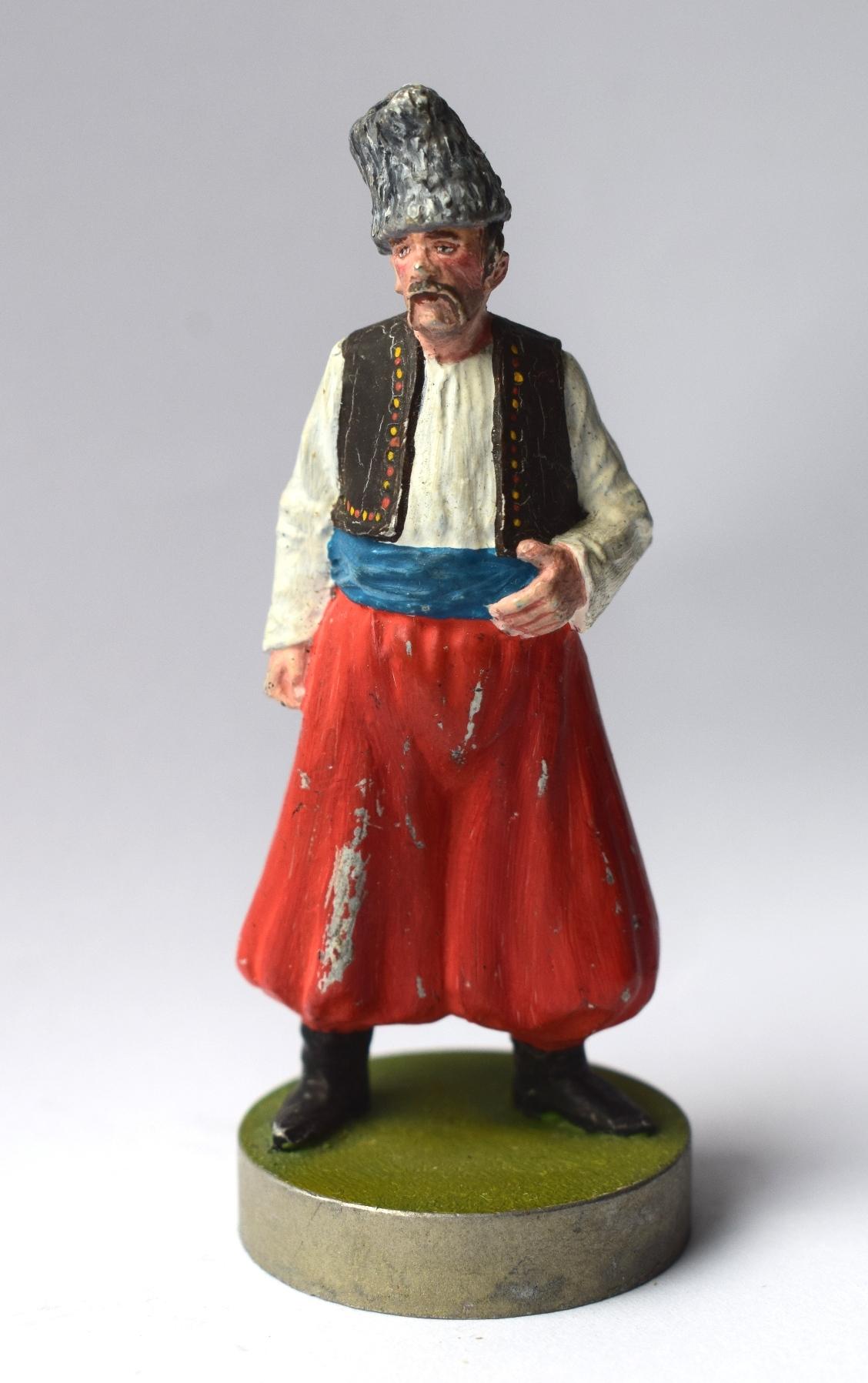 """Історична мініатюра. """"Запорізький козак. Військо Запорозьке Низове. XVIII ст."""""""