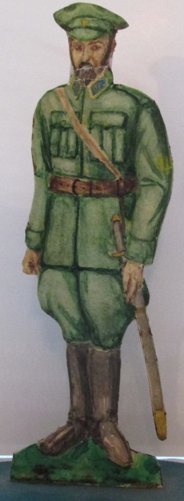 """Історична мініатюра. """"Генерал-поручник і шеф штабу Армії УНР Сінклер В. О. 1917-1919"""""""