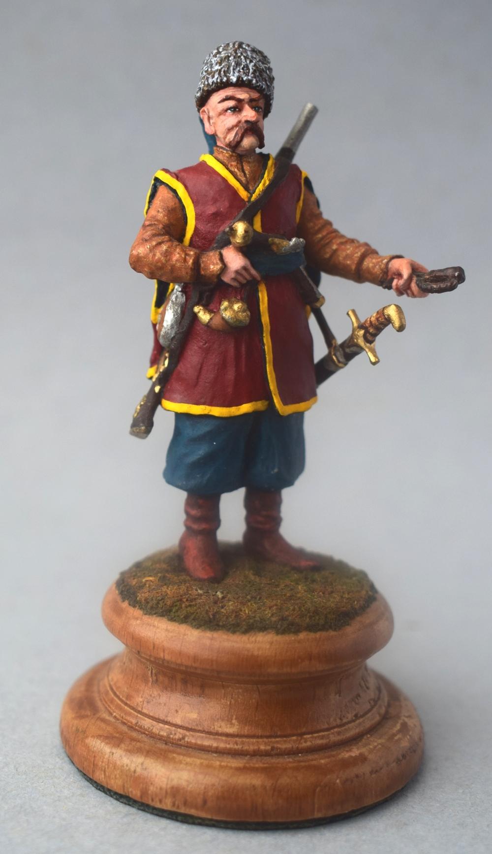 """Історична мініатюра. """"Реєстровий козак, учасник битви під Хотином (1621 р.)"""""""