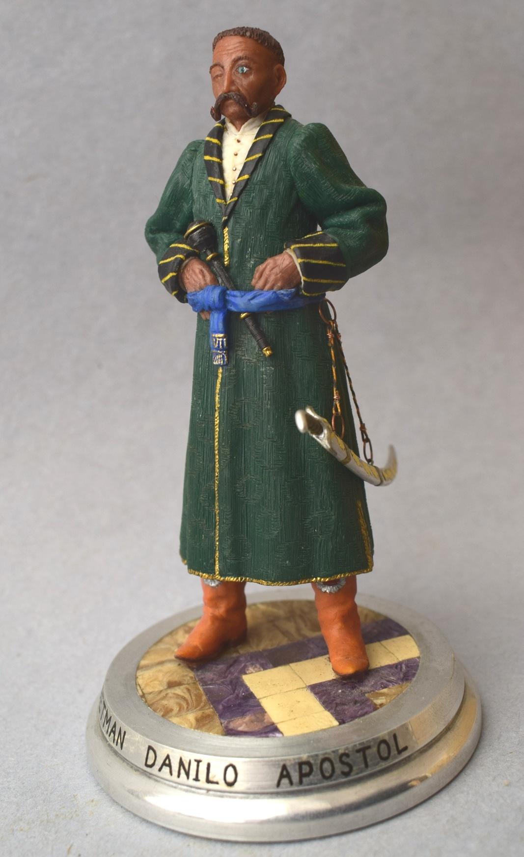 """Історична мініатюра. """"Данило Апостол (1654-1734). Гетьман Війська Запорозького, Гетьман Лівобережної Україні (1727-1734)"""""""