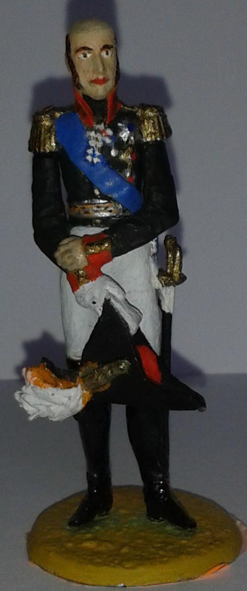 """Історична мініатюра. """"Генерал-фельдмаршал Михайло Богданович (Міхаель Андреас) Барклай-де-Толлі. Російська імперія. 1812-1818"""""""