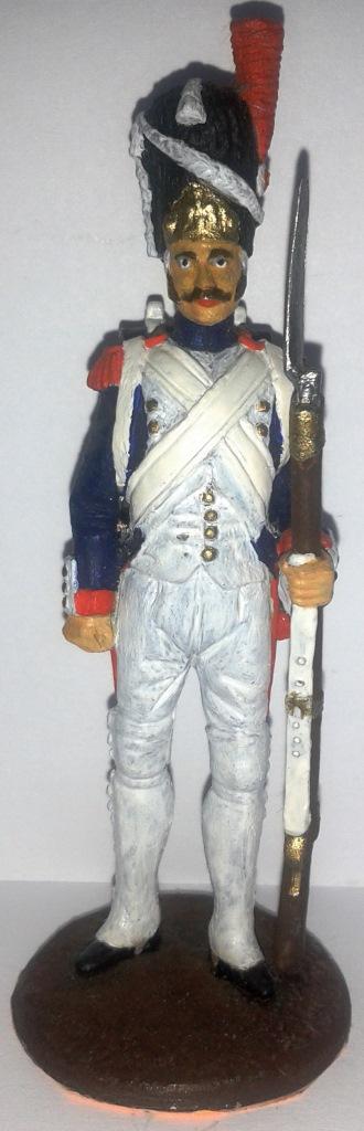 """Історична мініатюра. """"Гренадер. Імператорська Стара гвардія. Перша Французька імперія. 1804-1815"""""""