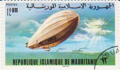 """Марка поштова гашена. """"Hаnsa"""". Republique Islamique de Mauritanie"""""""