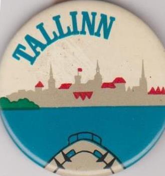 """Значок нагрудний: """"Tallinn"""""""