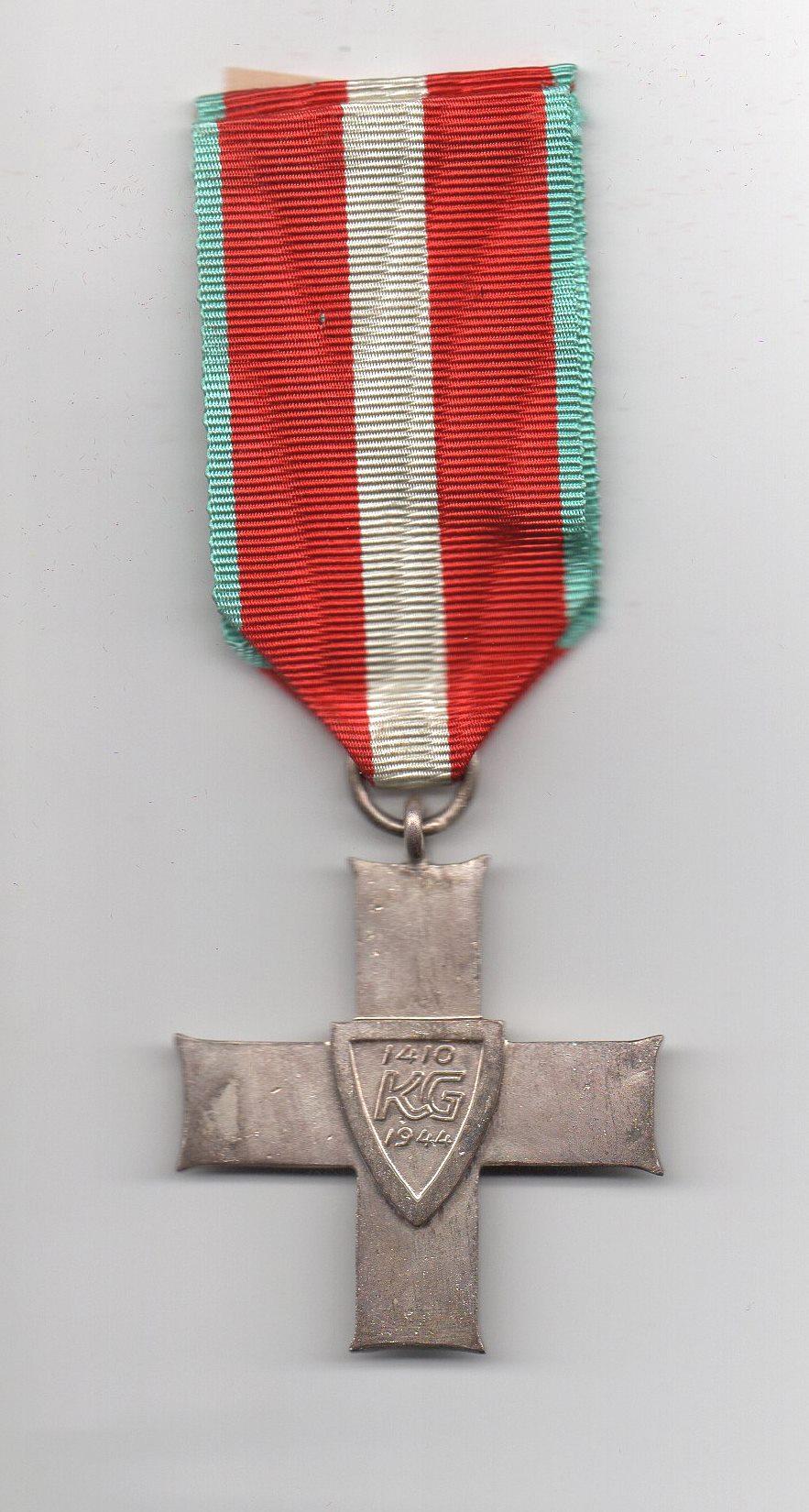 """Орден. """"Хрест Грюнвальда"""". KG. 1410-1944"""""""""""