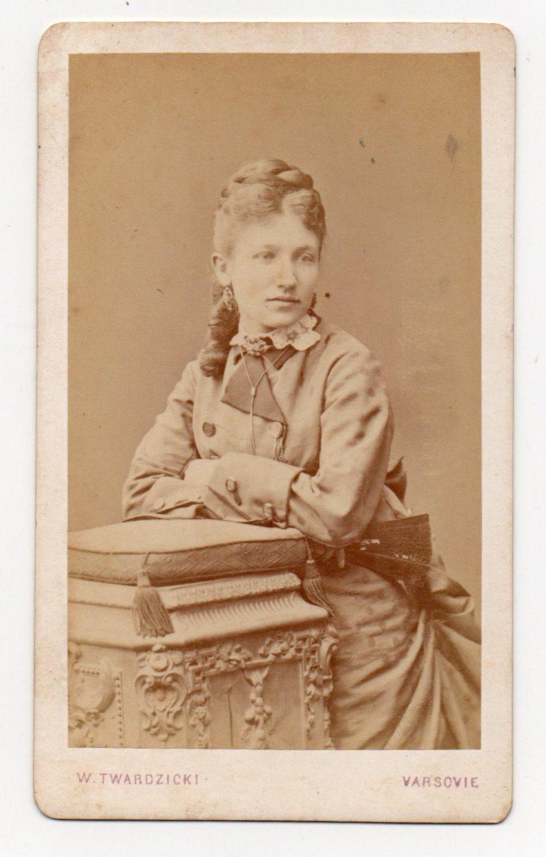 """Поштова листівка. """"Марія Конопницька. W. Twardzicki. Varsovie"""""""