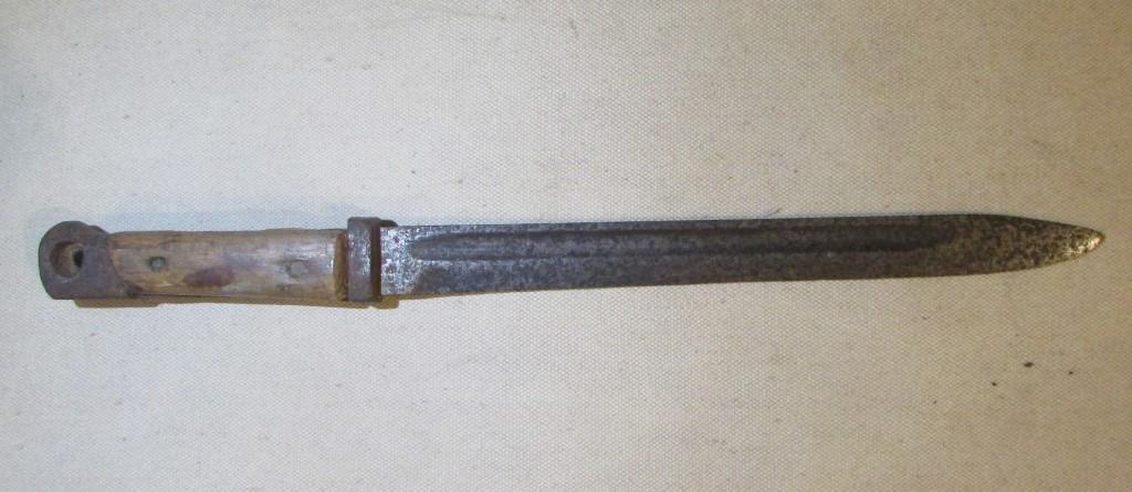 """Зброя. """"Штик-ніж до гвинтівки системи Краг-Йоргенсена зразка 1889 р."""""""