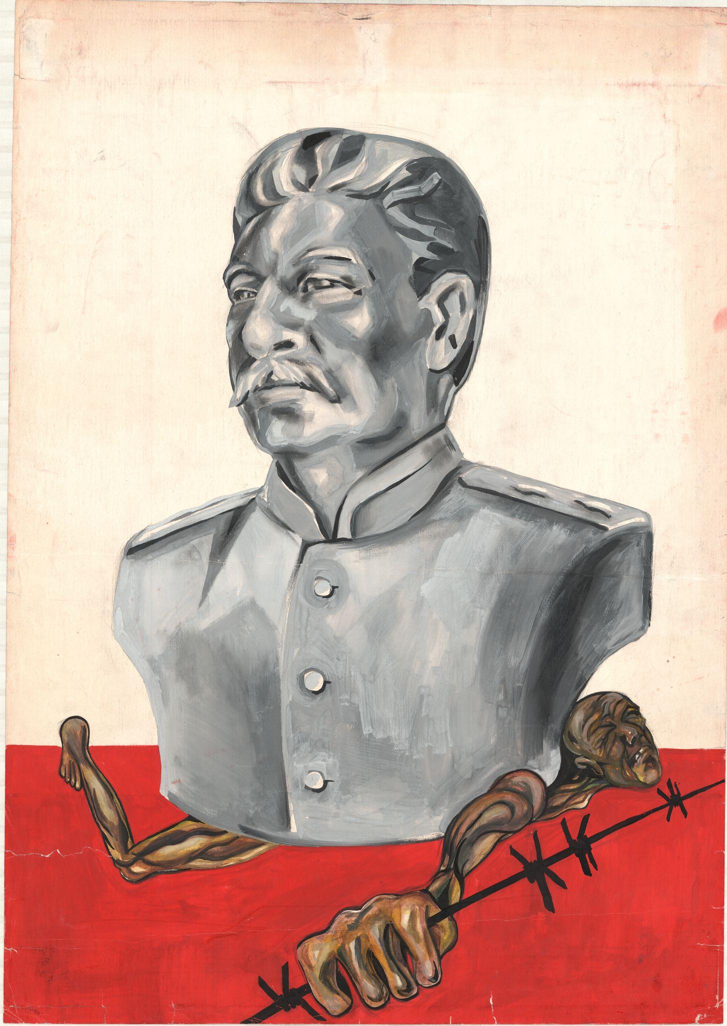 "Плакат ""Й. В. Сталін"""