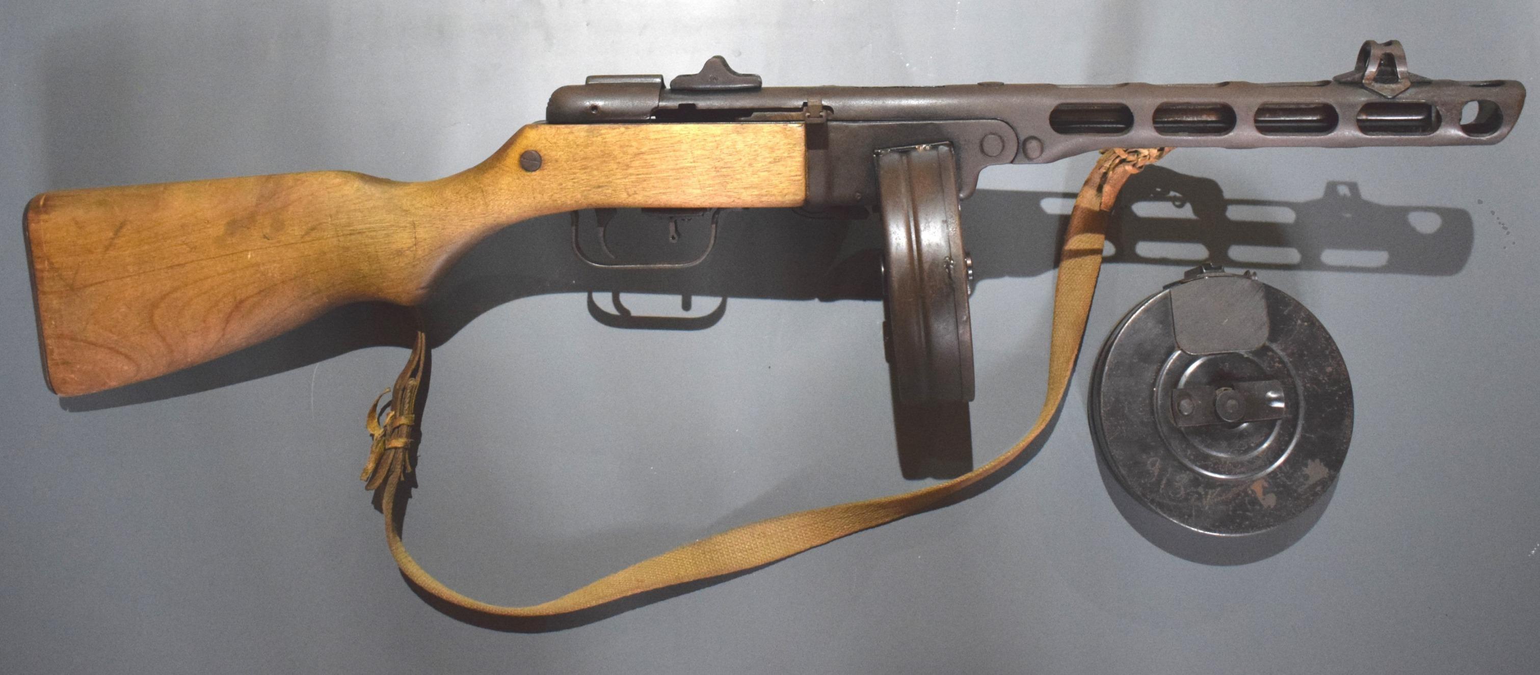 Пістолет-кулемет Шпагіна, калібру 7,62 мм, зразка 1941 р.