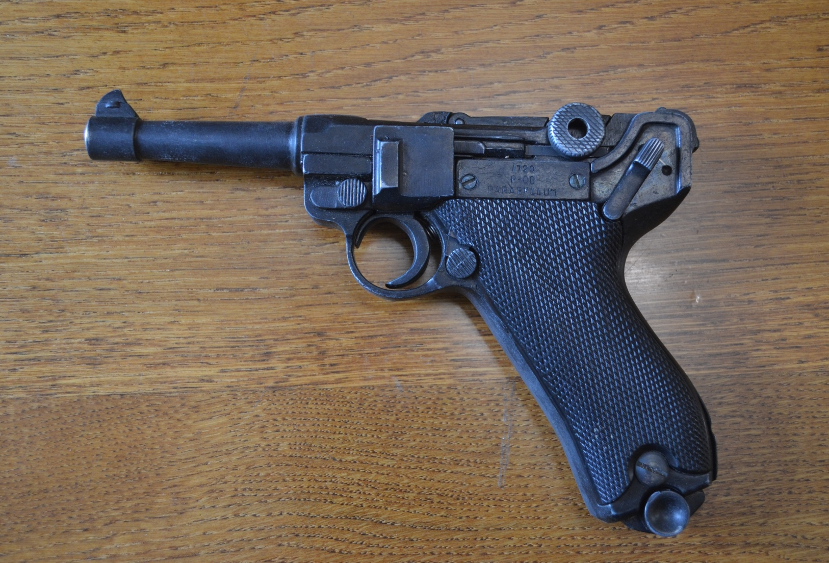 Парабелум пістолет, калібру 9 мм, зразка 1908 р.