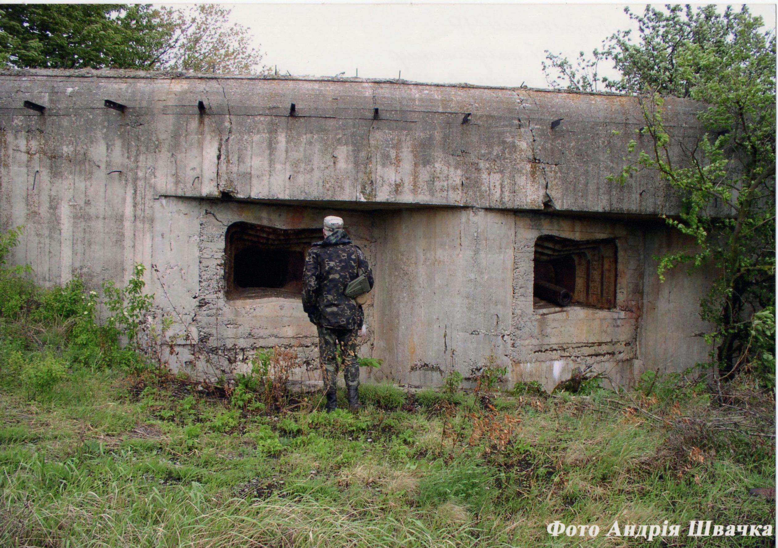 """Фотографія """"Кам'янець-Подільський укріпрайон. Артилерійський напівкапонір для 2-х 76,2 мм гармат Л-17. Хмельницька область"""""""
